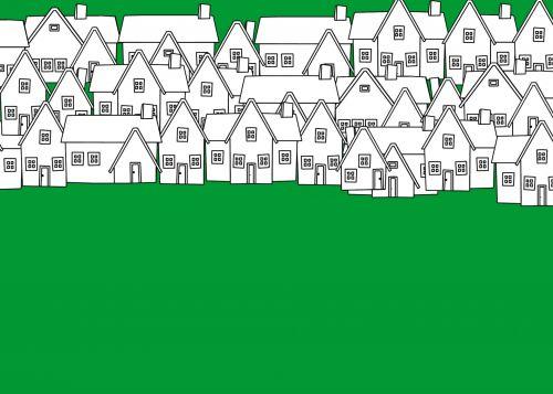 Neighborhood Background Green
