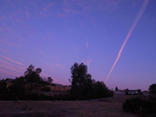 neighborhood park path sky