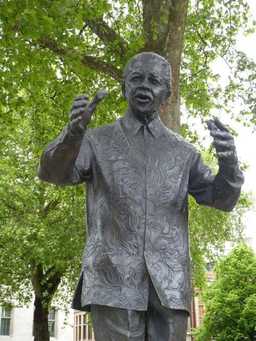 nelson mandela monument statue