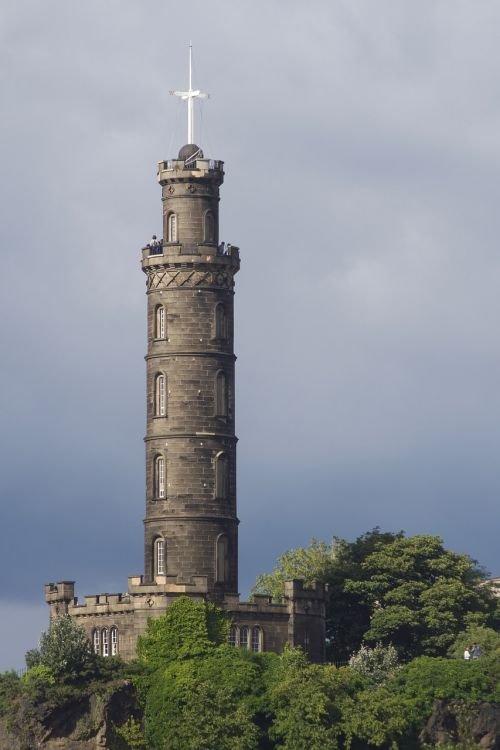 nelson monument calton hill edinburgh