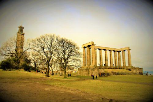 Nelson National Monuments Edinburgh