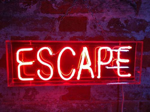 neon escape exit