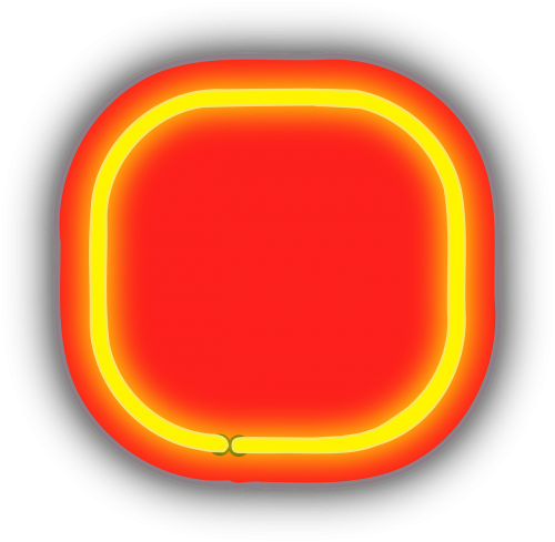 neon box rounded