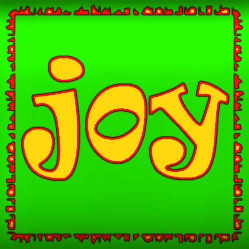 Neon Expression Joy Sign
