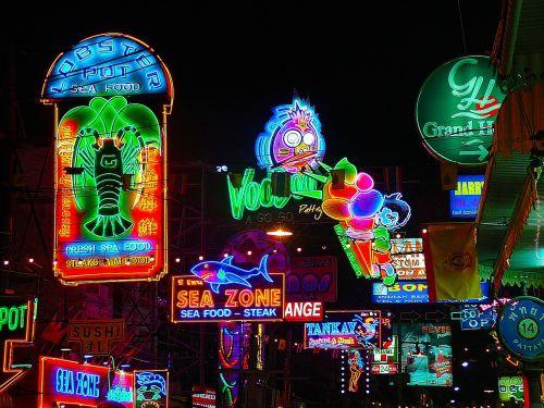 neon lights lights signs