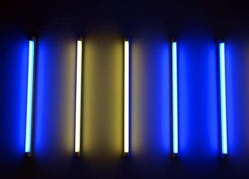 neon tube neon light light
