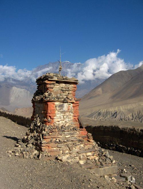 nepal chorten stupa
