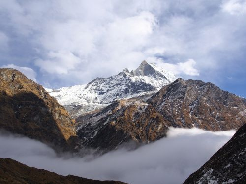 nepal basecamp himalayas