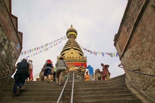 stupa nepal kathmandu