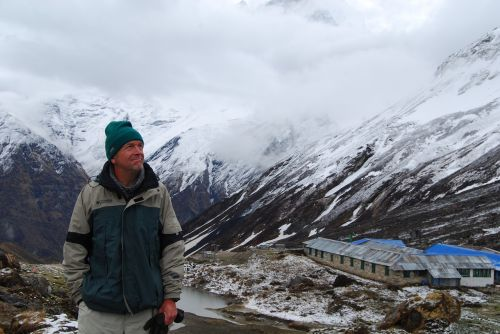 nepal annapurna mountains