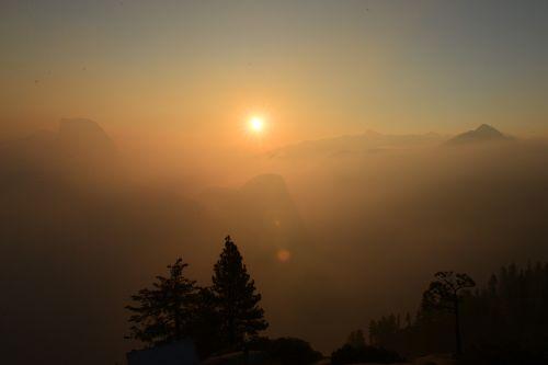 nepal himalaya sunset