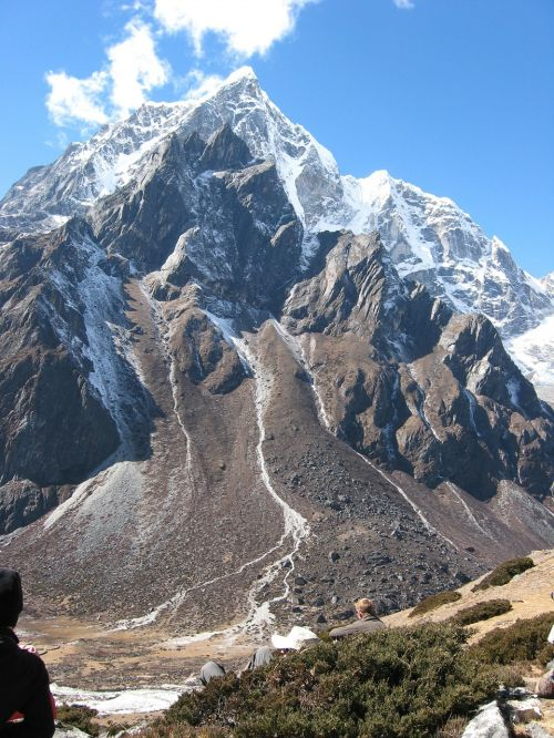 nepal mountains landscape