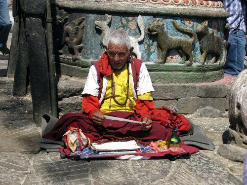 nepal hindu monk