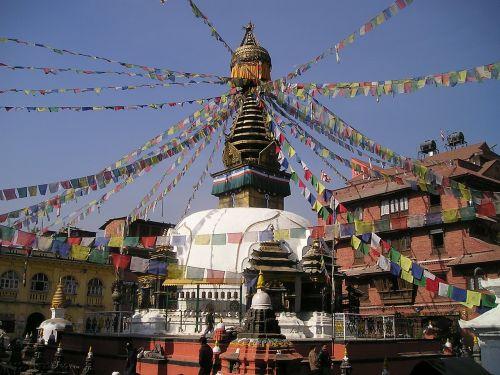 nepal stupa holy