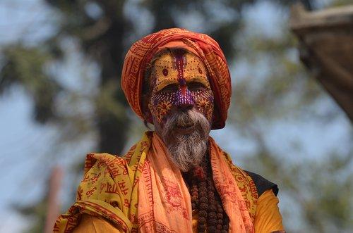 nepal  sadu  religion