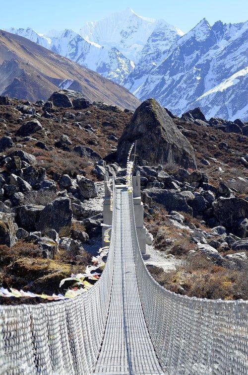 nepal  mountains  trekking