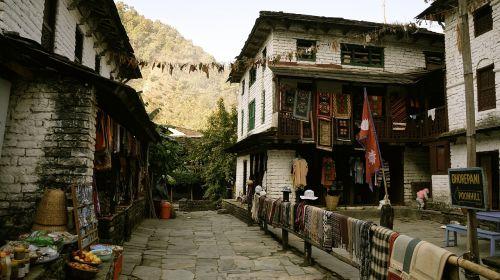 nepal annapurna himalayas