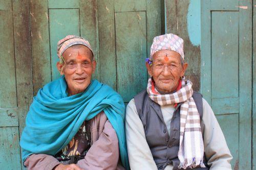 nepal himalayas men