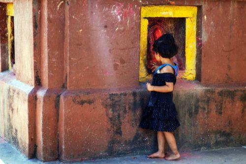 Nepalas,vaikai,religija