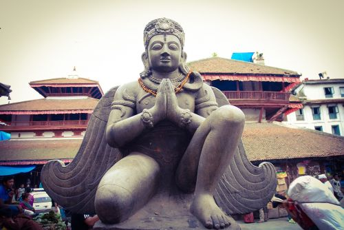 nepal garuda hinduism