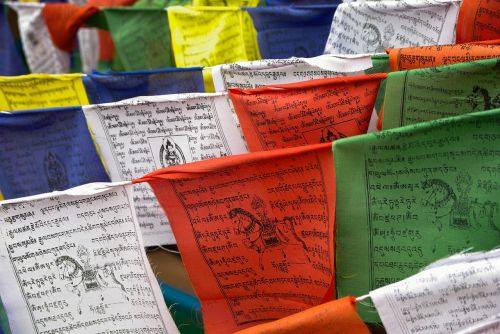 nepal prayer flags religion