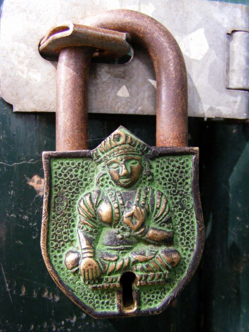 Nepalese Padlock