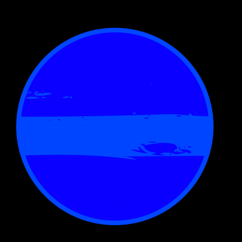 neptune planet illustration