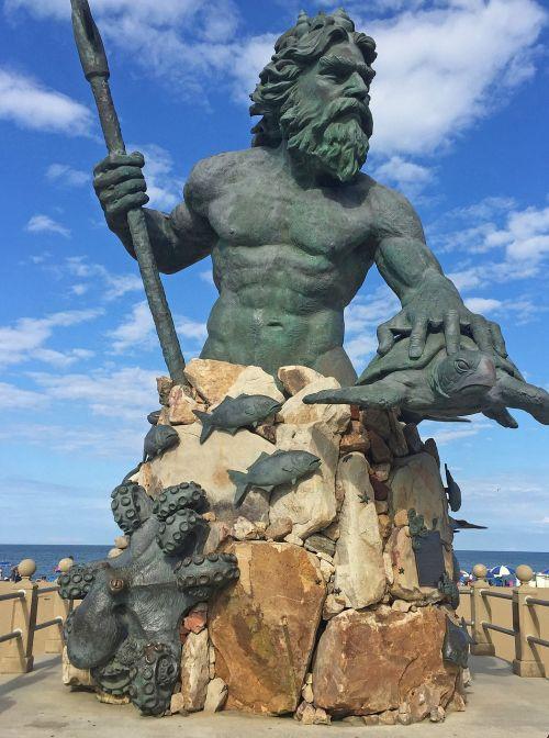 neptune statue virginia beach virginia