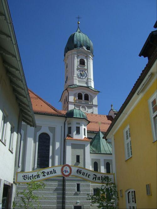 nesselwang church steeple