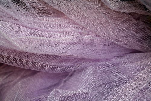 net  purple  fabric