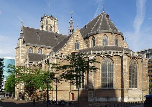 Nyderlandai,Rotterdam,architektūra,miestas,lankytinos vietos,pastatas,bažnyčia