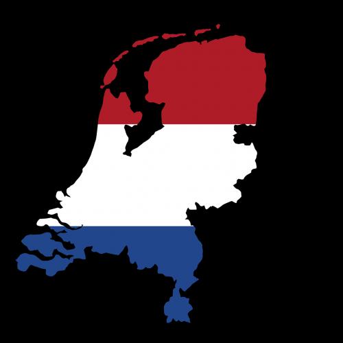 netherlands map land