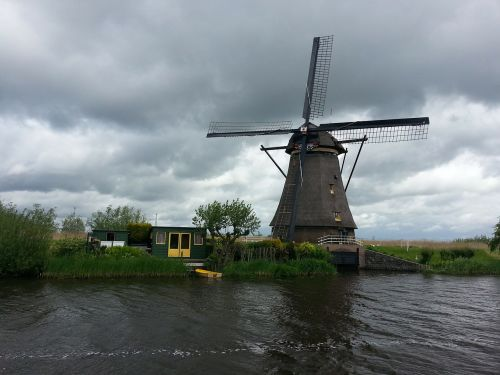 netherlands holland windmill