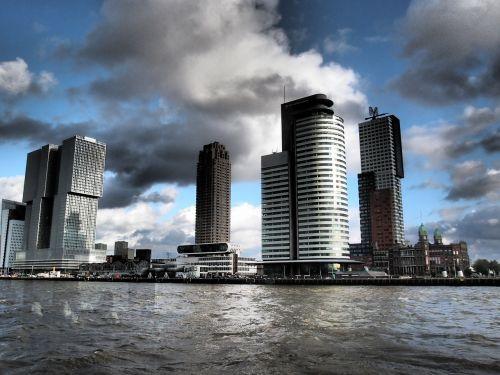 netherlands rotterdam clouds
