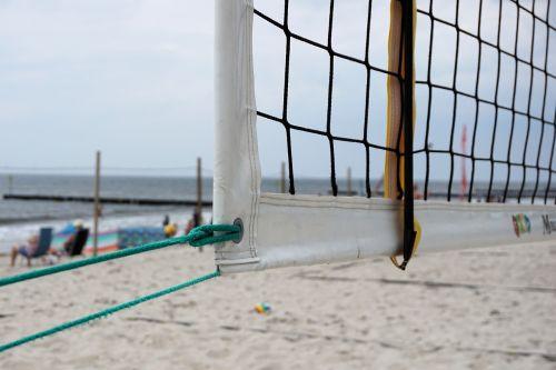 network beach volleyball volleyball