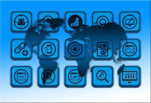 network worldwide icon
