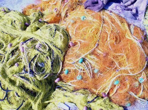 network fishnet color