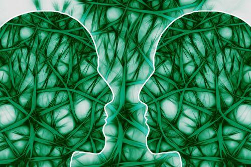 neural pathways artistically think
