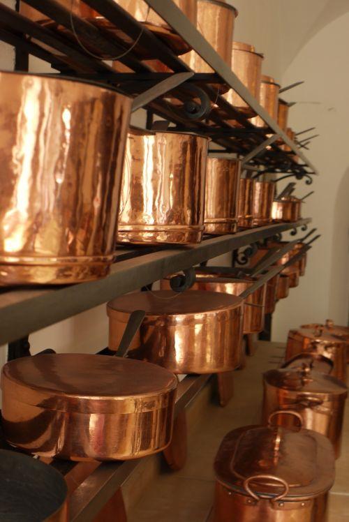 neuschwanstein kitchen copper