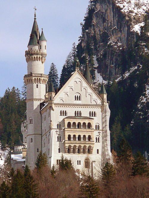 neuschwanstein castle king ludwig the second