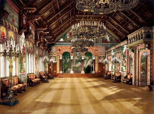 neuschwanstein castle singer's hall
