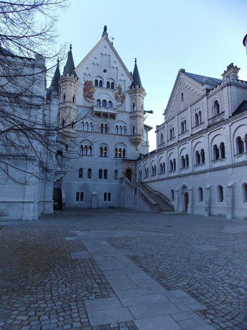 neuschwanstein castle castle fairy castle