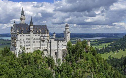 neuschwanstein castle castle kristin