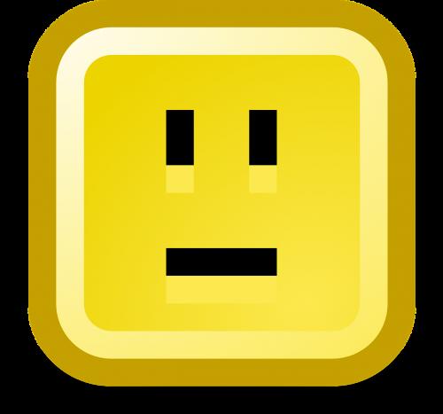 neutral smiley computer