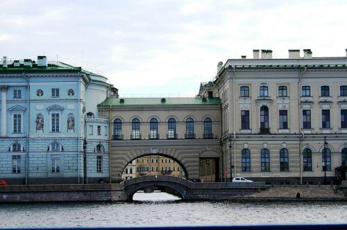 neva river adjoined buildings
