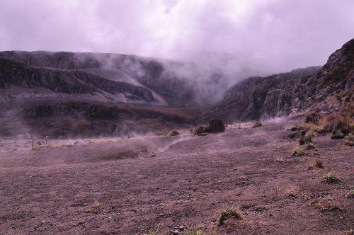 nevado mountain snowy