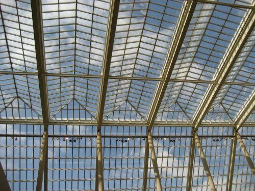 ceiling glass museum metropolitan