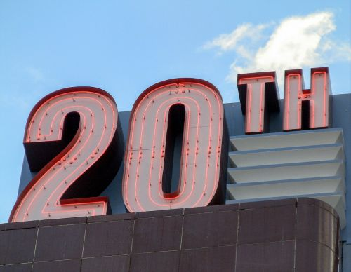 new sign twentieth
