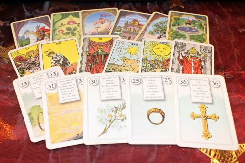new age fortune telling cards