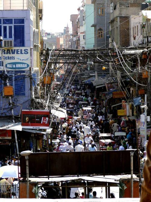 new dehli overpopulation chaos